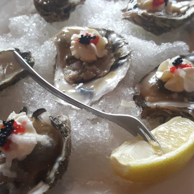 Oysters Romanoff